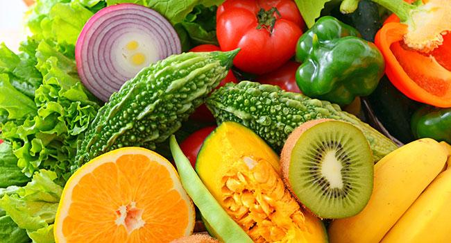 Фруты и овощи